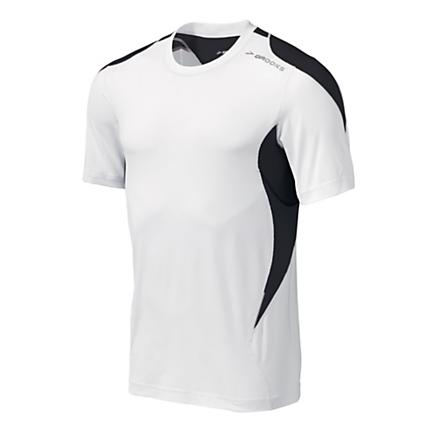Mens Brooks Equilibrium Short Sleeve Short Sleeve Technical Tops