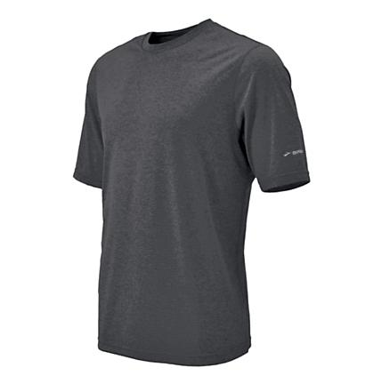 Mens Brooks EZ T II Short Sleeve Technical Tops