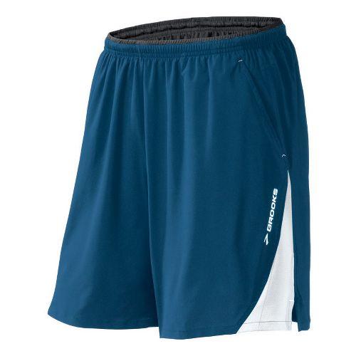 Mens Brooks Rogue Runner III Lined Shorts - Dark Blue XL