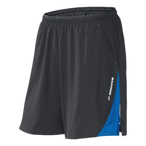 Mens Brooks Rogue Runner III Lined Shorts - Earl/Olympic XL