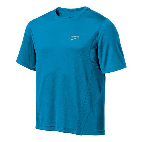 Mens Brooks Versatile T Short Sleeve Technical Tops - Atlantic M