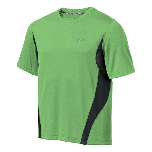 Mens Brooks Versatile T Short Sleeve Technical Tops - Brite Green XXL