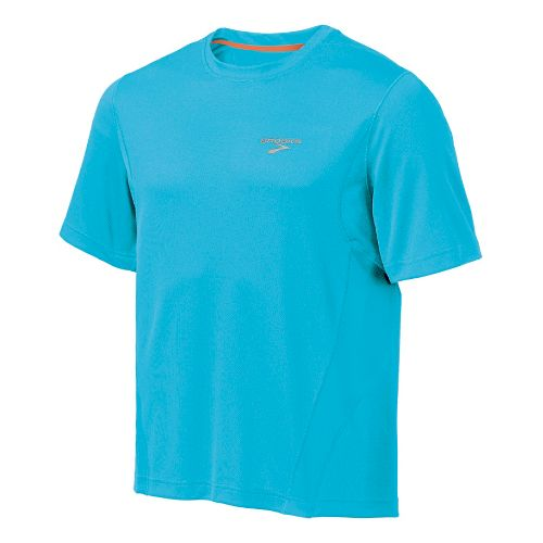 Mens Brooks Versatile T Short Sleeve Technical Tops - Canyon M