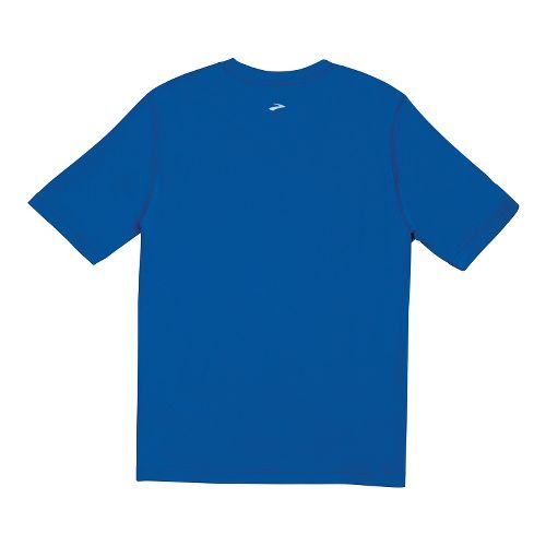 Mens Brooks Versatile T Short Sleeve Technical Tops - Electric L