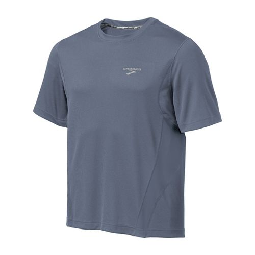 Mens Brooks Versatile T Short Sleeve Technical Tops - Flint M