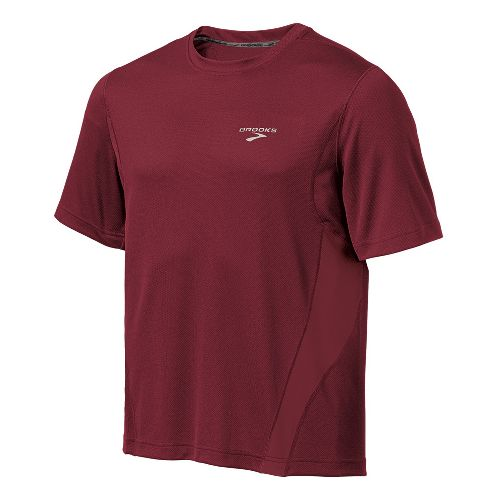 Mens Brooks Versatile T Short Sleeve Technical Tops - Matador M