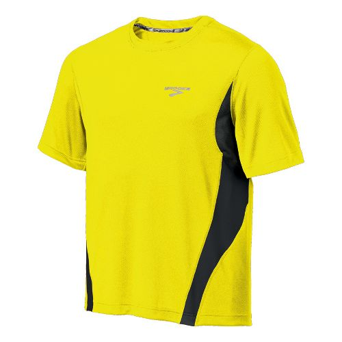 Mens Brooks Versatile T Short Sleeve Technical Tops - Nightlife XL
