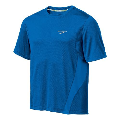 Mens Brooks Versatile T Short Sleeve Technical Tops - Olympic XL