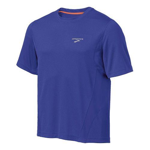 Mens Brooks Versatile T Short Sleeve Technical Tops - Ultra Marine XL