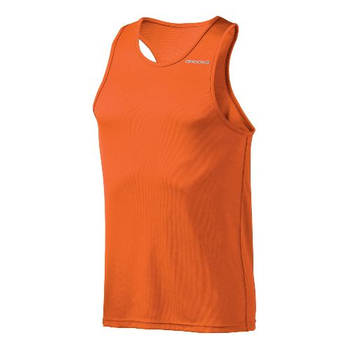Mens Brooks Versatile Singlets Technical Tops - Energy L