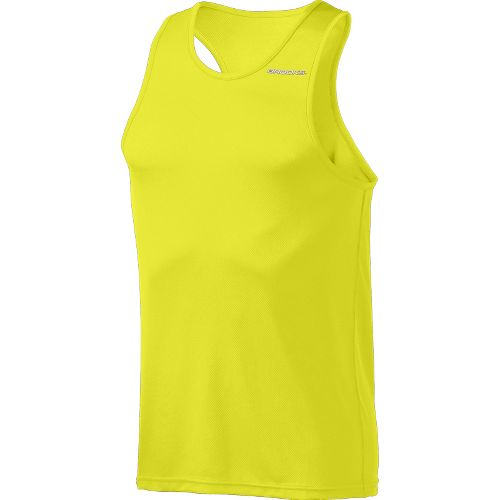 Mens Brooks Versatile Singlets Technical Tops - Nightlife L