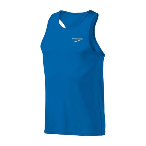 Mens Brooks Versatile Singlets Technical Tops - Skydiver L