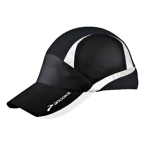 Brooks Nightlife Mesh Cap Headwear - Black