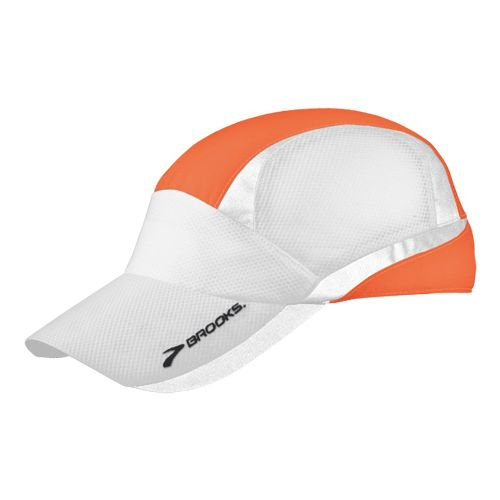 Brooks Nightlife Mesh Cap Headwear - Brite Orange