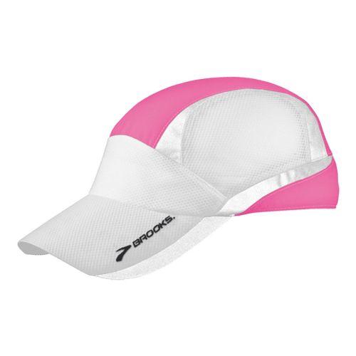 Brooks Nightlife Mesh Cap Headwear - Brite Pink