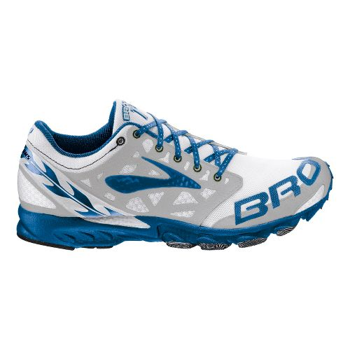 Brooks T7 Racer Racing Shoe - Electric Blue/Silver 3.5