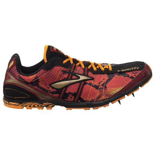 Mens Brooks Mach 13 Racing Shoe - Slam/Zinnia 9