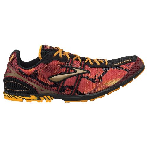 Mens Brooks Mach 13 Spikeless Racing Shoe - Slam/Zinnia 13