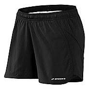 Womens Brooks Pacer Short II Lined Shorts