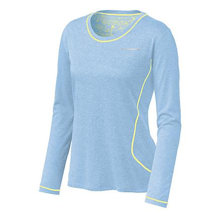 Womens Brooks Versatile EZ Long Sleeve No Zip Technical Tops