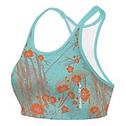 Womens Brooks Glycerin Printed Top II Sports Bra