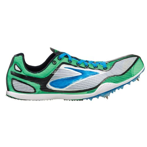 Brooks The Wire 2 Track and Field Shoe - White/Brite Green 12.5
