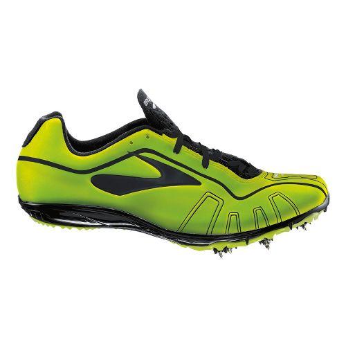 Brooks Qw-k Track and Field Shoe - Tennis Ball/Black 11.5