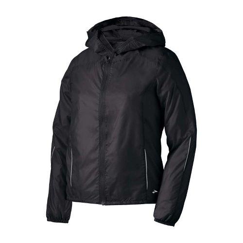 Womens Brooks LSD Lite III Running Jackets - Black L