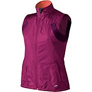 Womens Brooks Essential Run II Outerwear Vests