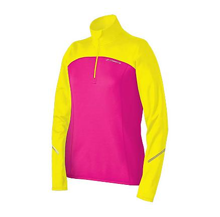 Womens Brooks Utopia Thermal 1/2 Zip Long Sleeve 1/2 Zip Technical Tops