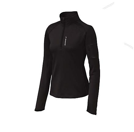 Womens Brooks Infiniti 1/2 Zip II  Technical Tops