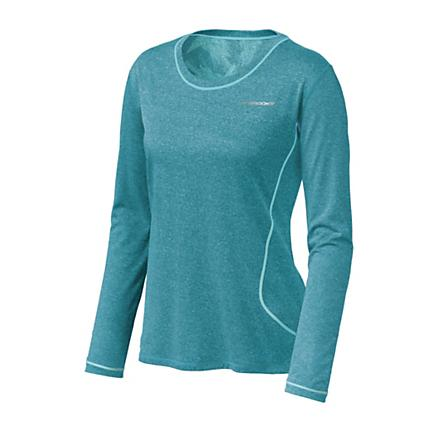 Womens Brooks Versatile EZ LS Long Sleeve No Zip Technical Tops