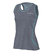 Womens Brooks Versatile EZ Racer Back Tanks Technical Tops