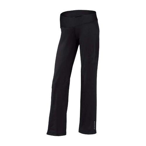 Womens Brooks Glycerin III Warm-Up Pants - Black ST