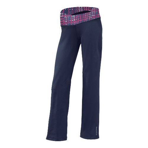 Womens Brooks Glycerin III Warm-Up Pants - Midnight/Midnight Hatch XS