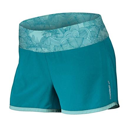 "Womens Brooks Glycerin 2-in-1 3.5"" Short 2-in-1 Shorts"