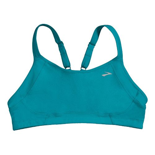 Womens Brooks Infiniti A/B Sports Bras - Caribbean M