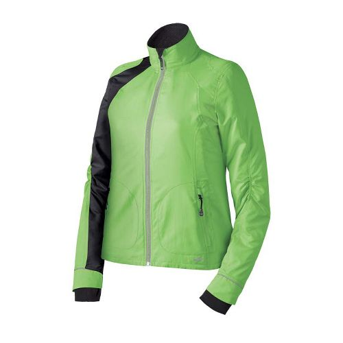 Womens Brooks Nightlife III Outerwear Jackets - Brite Green XS