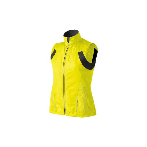 Womens Brooks Essential Run II Outerwear Vests - Nightlife S