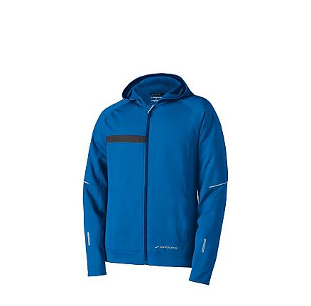 Mens Brooks Utopia Thermal Hooded Jacket Outerwear Jackets