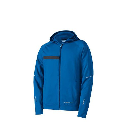 Mens Brooks Utopia Thermal Hooded Outerwear Jackets - Skydiver M