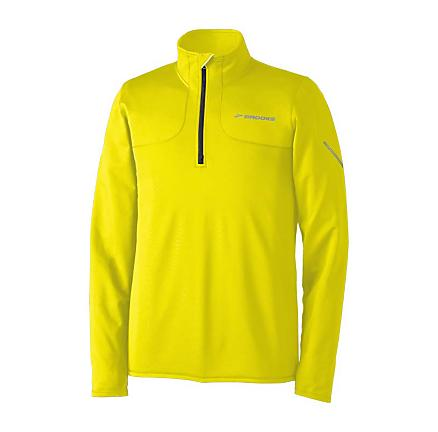Mens Brooks Utopia Thermal 1/2 Zip Long Sleeve 1/2 Zip Technical Tops
