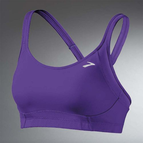 Womens Brooks Infiniti C/D Bras - Royal Purple M