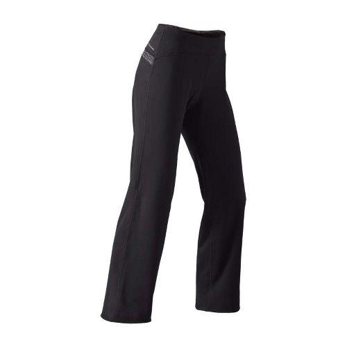 Womens Brooks Utopia Thermal Cozy Petite Pant - Pet Cold weather Pants - Black/Heather Black ...