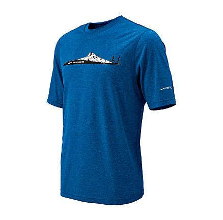 Mens Brooks EZ T II Mountain Runner Short Sleeve Technical Tops