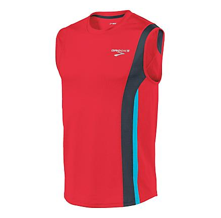 Mens Brooks Rev Sleeveless II Sleeveless Technical Tops