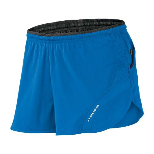 Mens Brooks Infiniti III Splits Shorts - Skydiver M