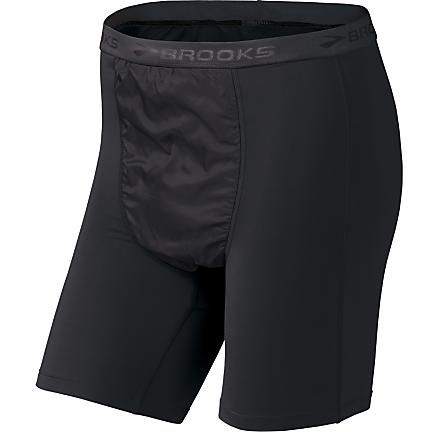 Mens Brooks Thermal Wind Boxer Boxer Brief Underwear Bottoms