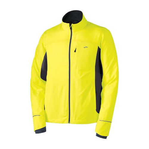 Mens Brooks Nightlife III Running Jackets - Nightlife L