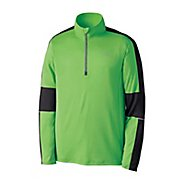 Mens Brooks Nightlife Essential Run LS 1/2 Zip Long Sleeve 1/2 Zip Technical Tops